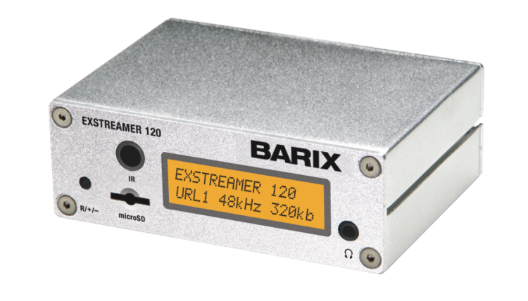 Barix Exstreamer 120 | Audio over IP Decoder
