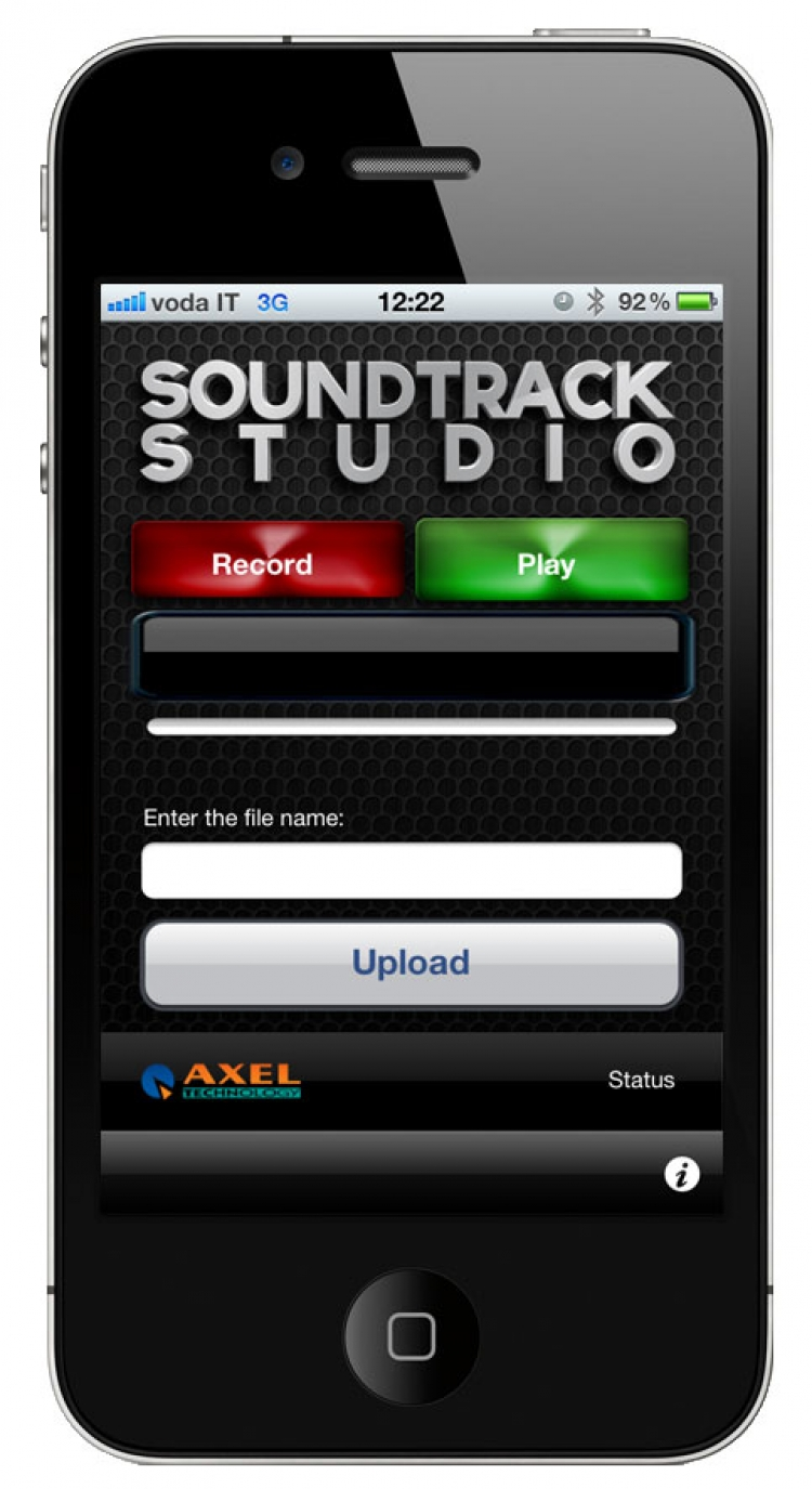 Axel | Soundtrack Automatiserings Software