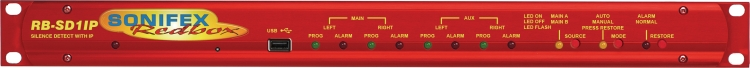 Sonifex RB-SD1IP Stilte Detectie /Ethernet /USB
