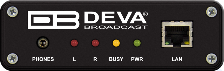 DEVA Broadcast DB90 RX | Audio over IP Audio Decoder