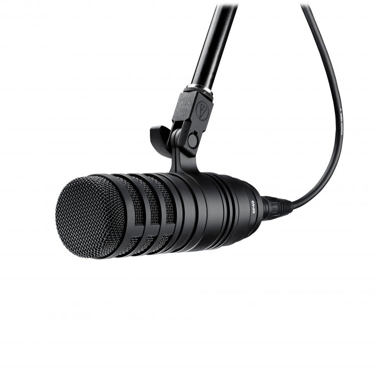 AUDIO TECHNICA BP40 Large-Diaphragm Dynamic Broadcast Microfoon