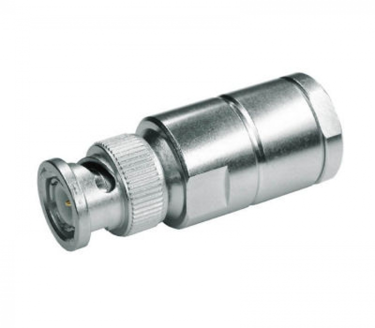 BNC-Connector, male voor AIRCOM PLUS en ECOFLEX 10,