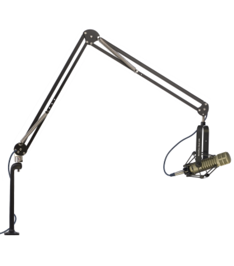 O.C.White 14199-R ProBoom® Elite Extended Reach Mic Arm with Riser