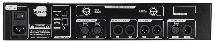 Biquad DAP 4  Digitale 5 Bands AM Broadcast Audio Processor