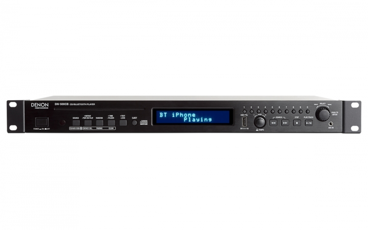 Denon DN-500CB CD/Media Speler met Bluetooth/USB/Aux Inputs