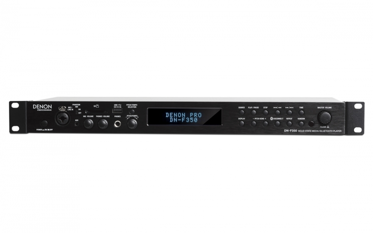 Denon DN-F350 Solid-State Media Speler met Bluetooth/USB/SD/Aux Inputs
