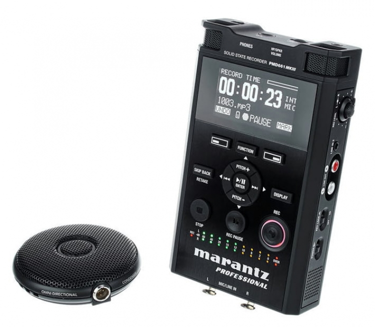 Marantz PMD661MKIII | Portable Solid State Recorder