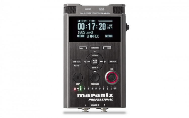 Marantz PMD561 Handheld Solid-State Recorder