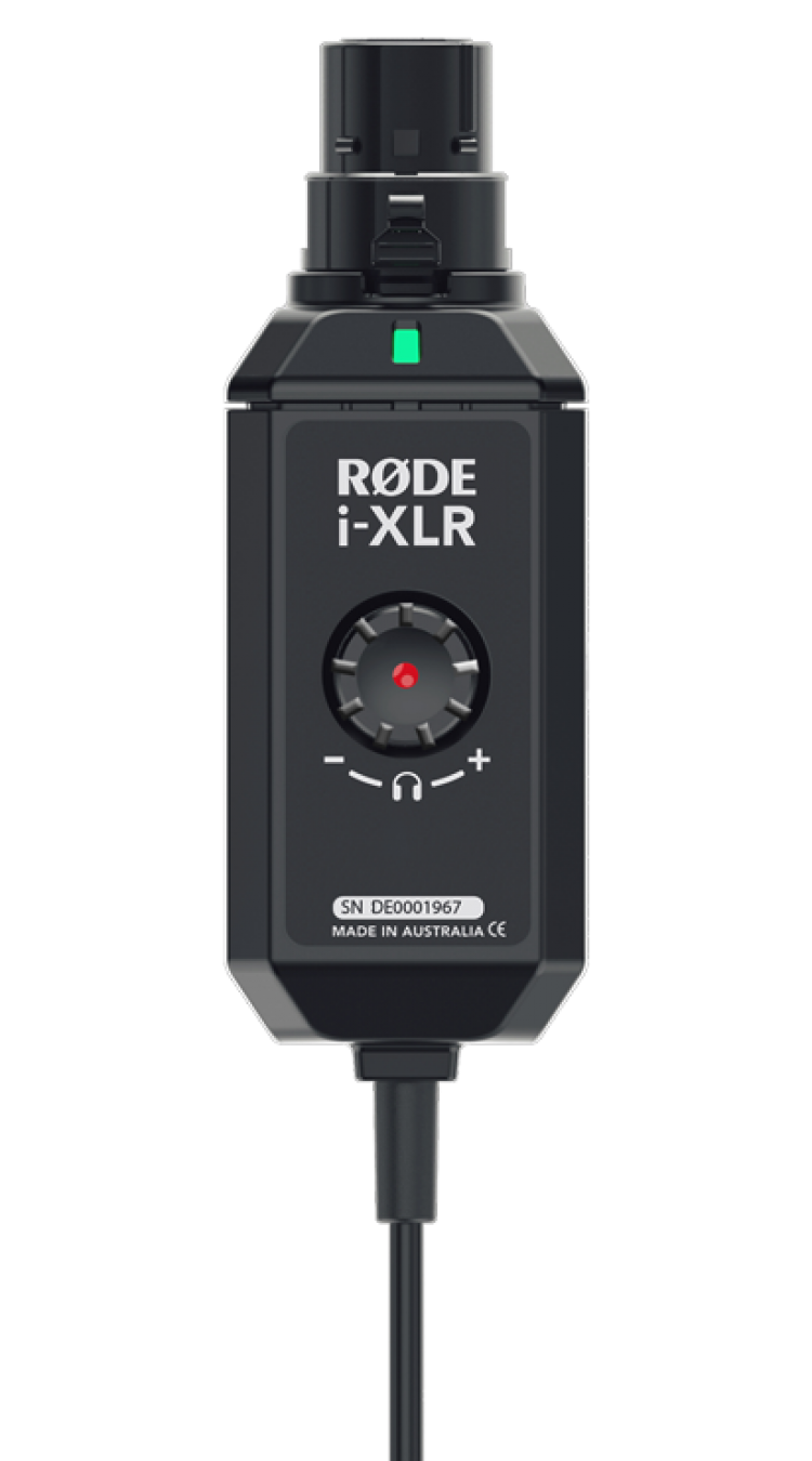 Rode i-XLR Reporter interface voor IOS