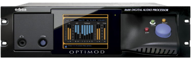 Orban Optimod 8600 FM Audio