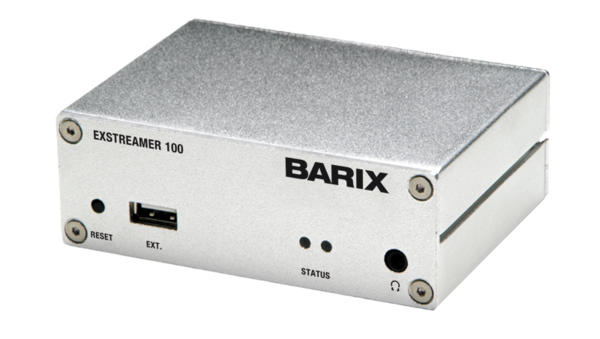 Barix Exstreamer 100 | Audio over IP Decoder