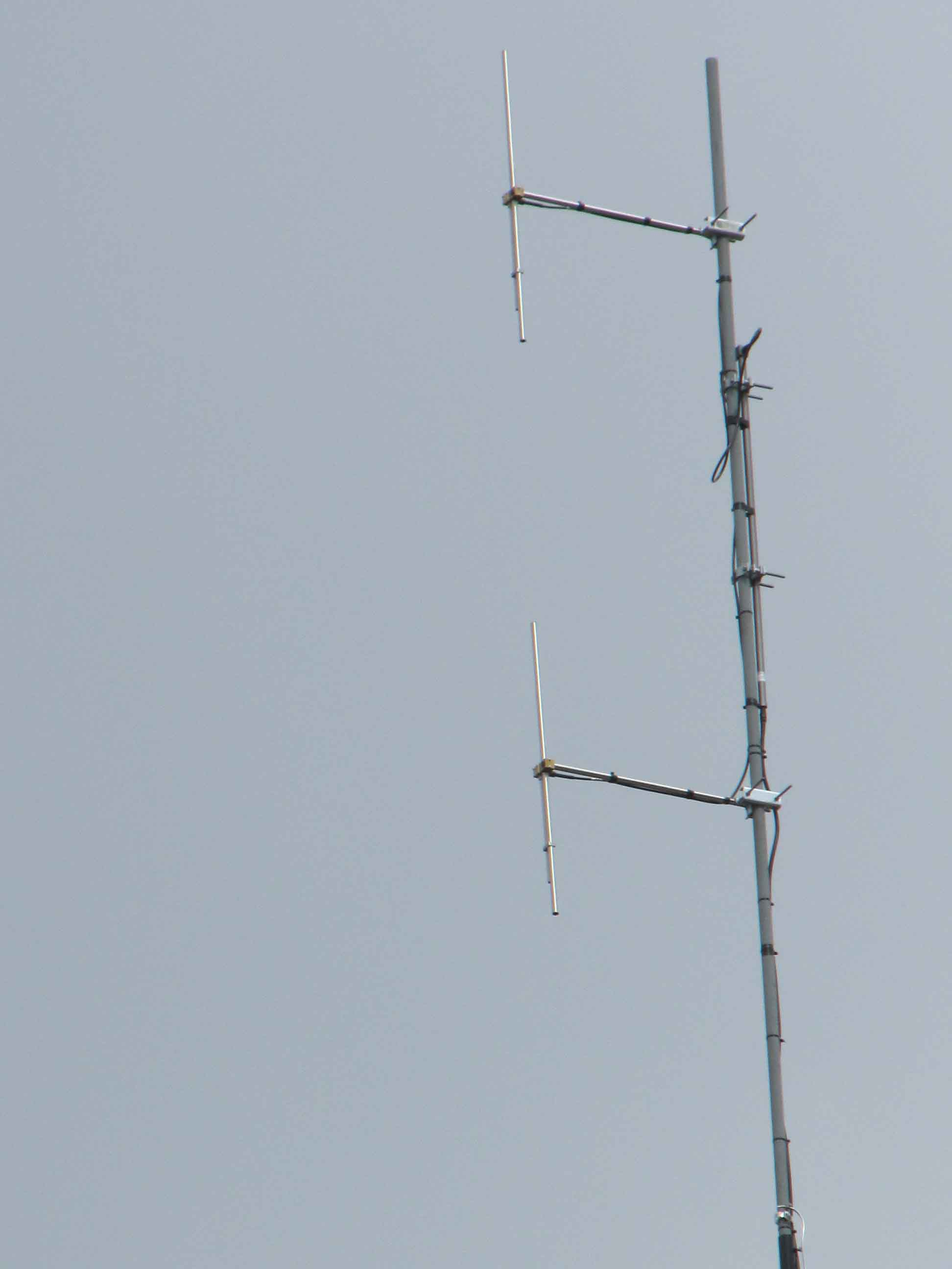 ProFM TD1 Broadcast FM Tuned Dipool gestapelde Antenne Systeem